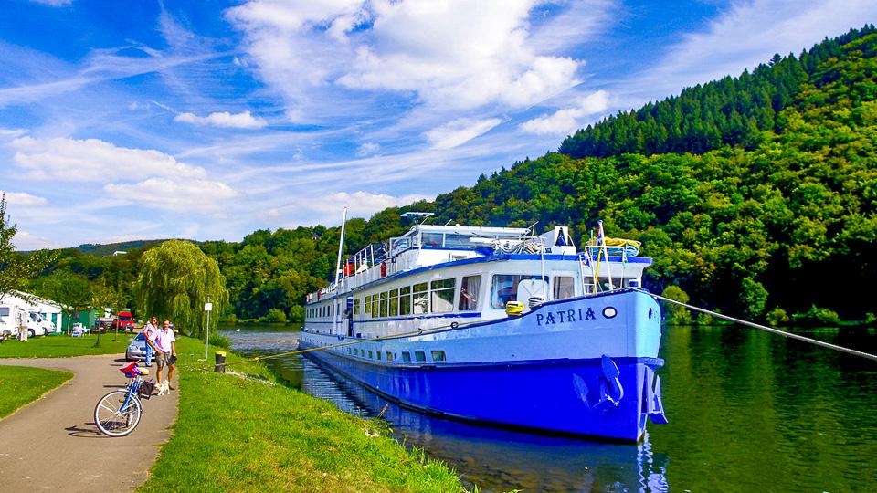 Rad Und Schiff An Mosel Und Saar Radweg Reisen